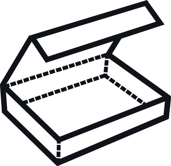 3 FIT - Mailer Box Icon