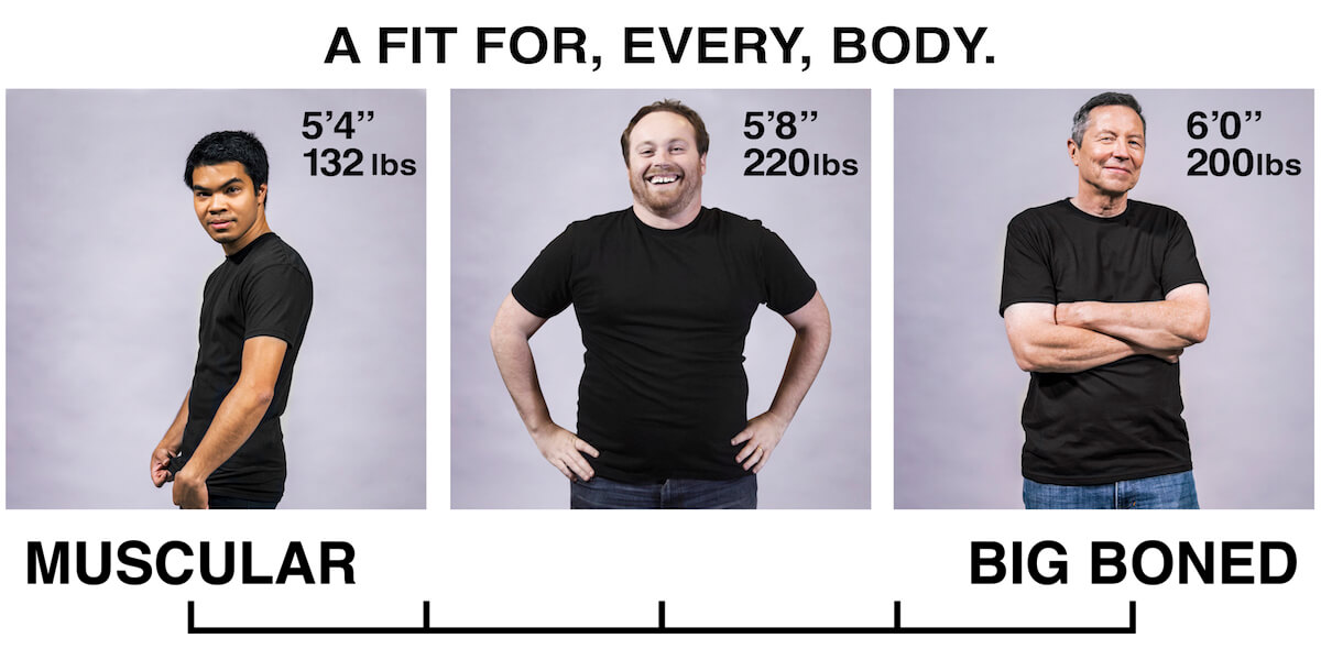 3 FIT Theory - A Fit for Every Body, from muscular to big boneded