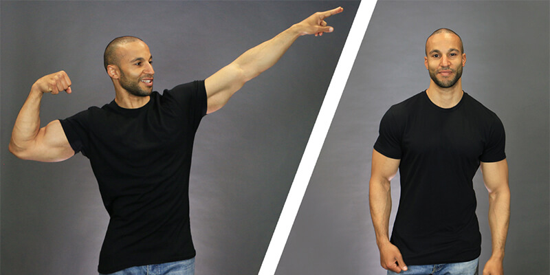 Muscle Fit Tees